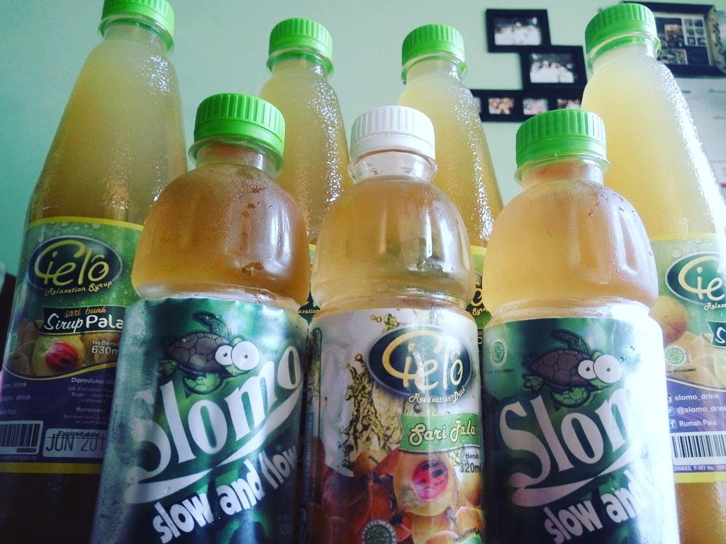 Minuman Sirup Pala Bogor Cielo dan Sari Pala Cielo & Slomo, Nikmat Di Sajikan di Segala Cuaca