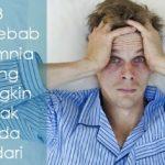 Penyebab Insomnia yang Mungkin Tidak Anda Sadari